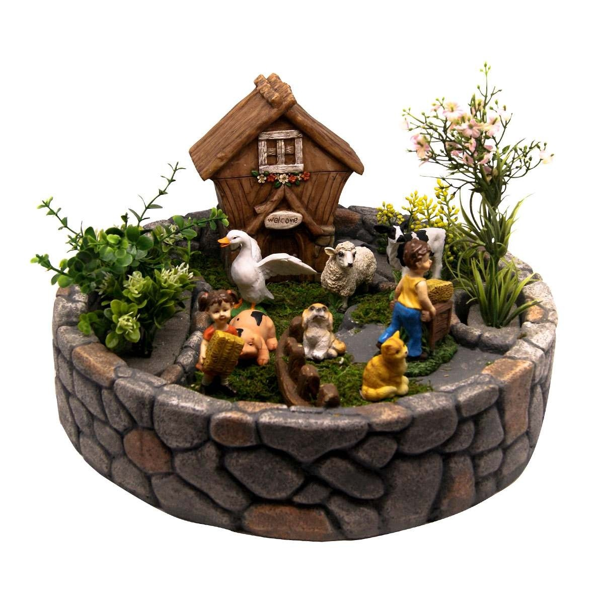 Family Farm Fairy Garden Kit Garden And Pond Depot
