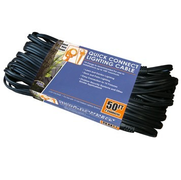 10 Socket Quick Connect 50 ft Lighting Cable