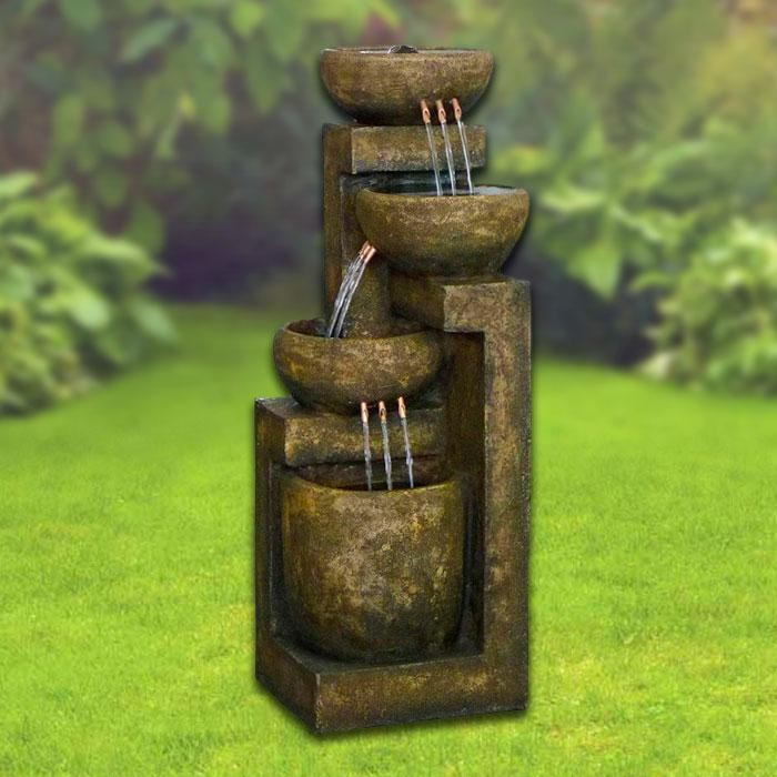 "40"" Tall 3-Tier Pot Fountain"