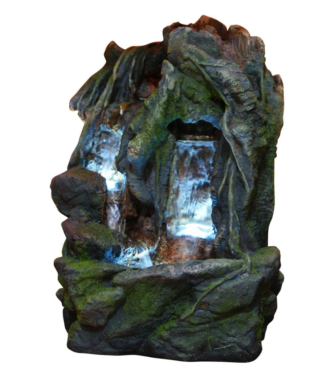 "13"" Tall Alpine Waterfall Fountain"
