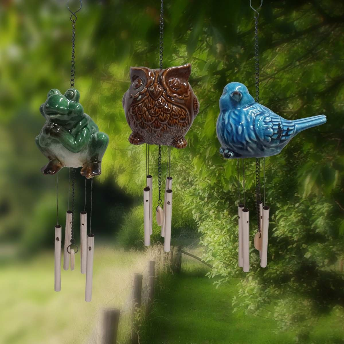 Alpine Animal Wind Chime