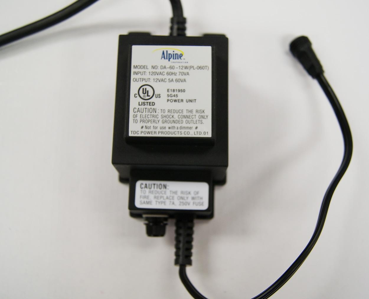 Alpine 60 Watt Multi-Light Transformer
