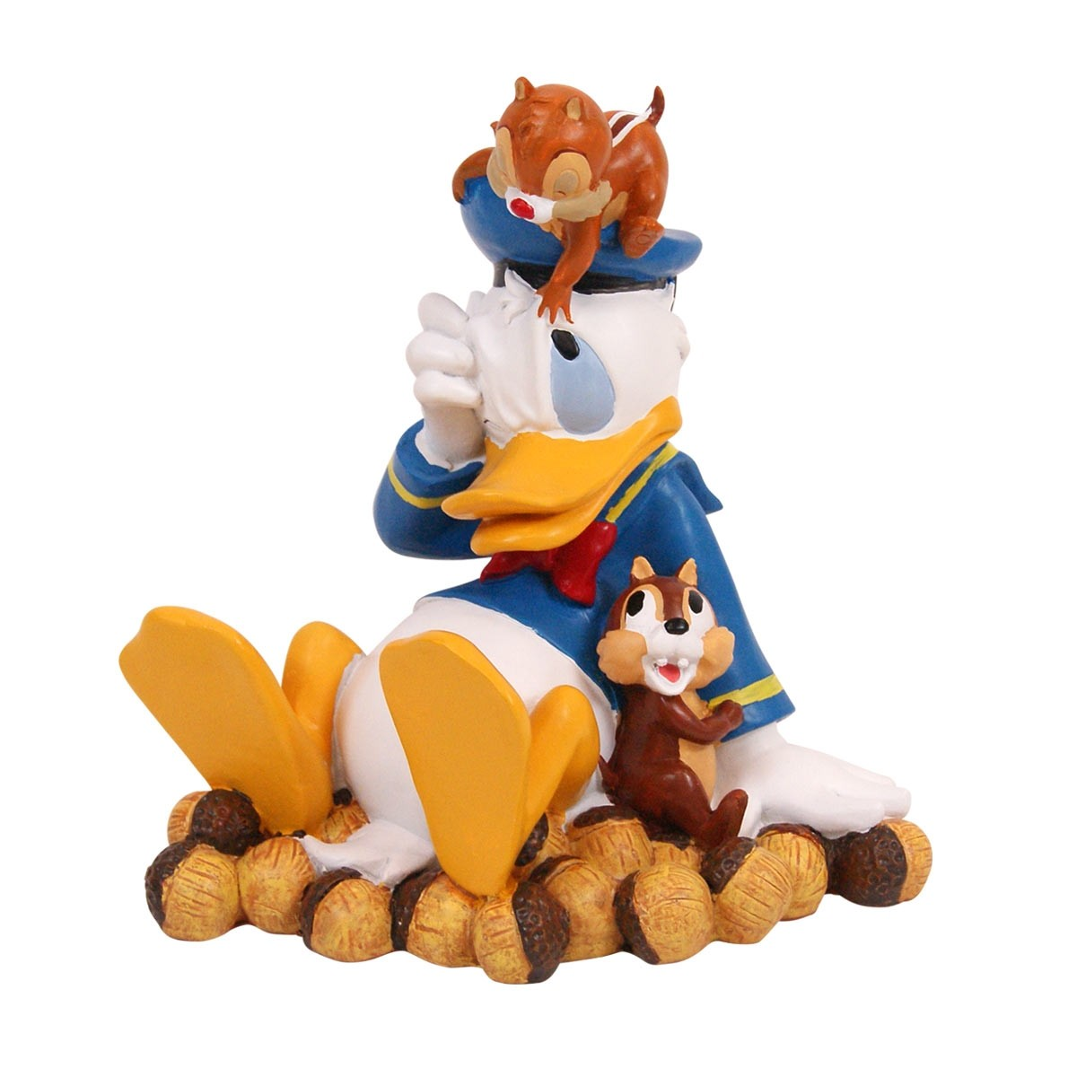 "9"" Tall Disney's Donald with Chip and Dale"