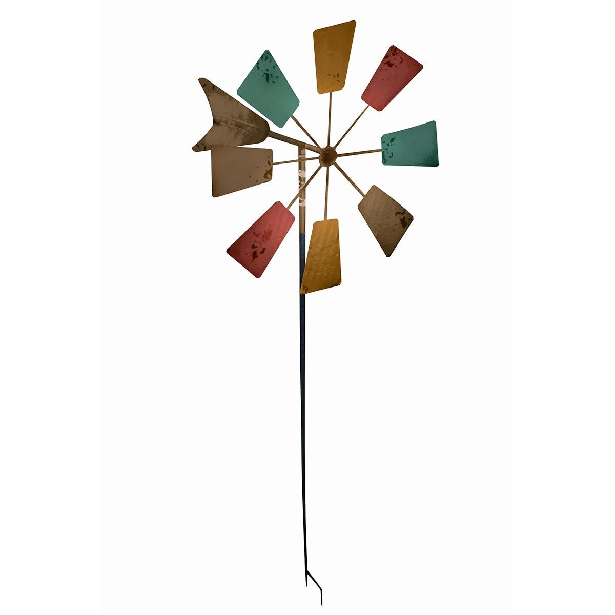 "Alpine 52"" Tall Windmill Garden Stake"