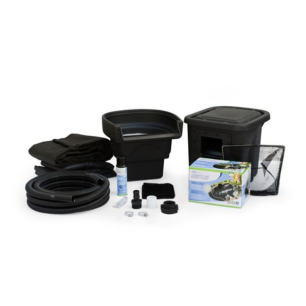 DIY Backyard Pond Kit