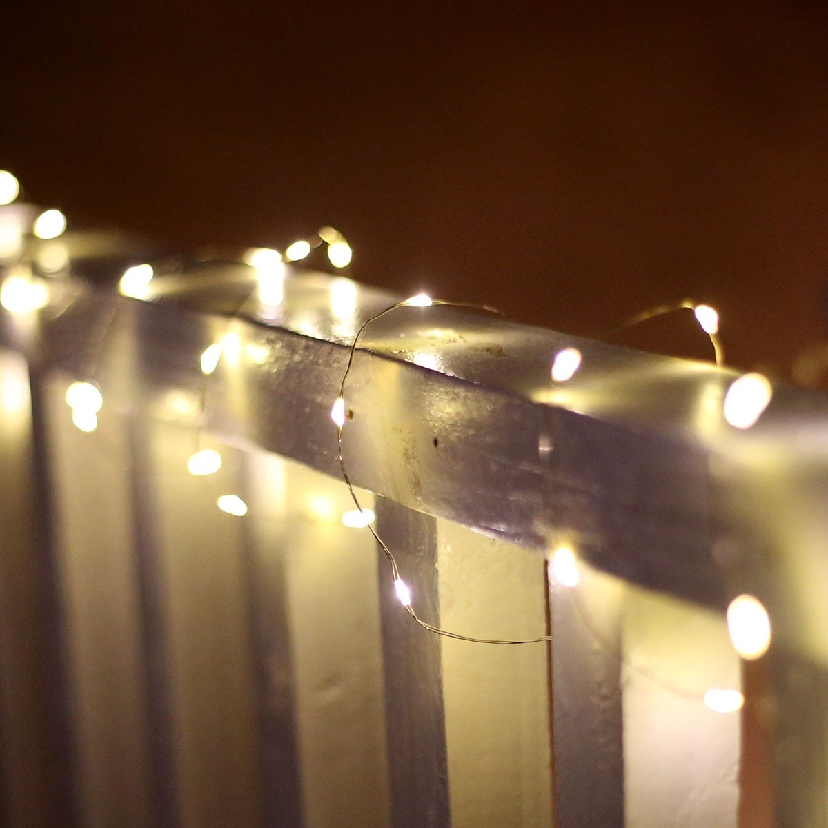 60 Silver Copper String Lights- TM | Garden and Pond Depot
