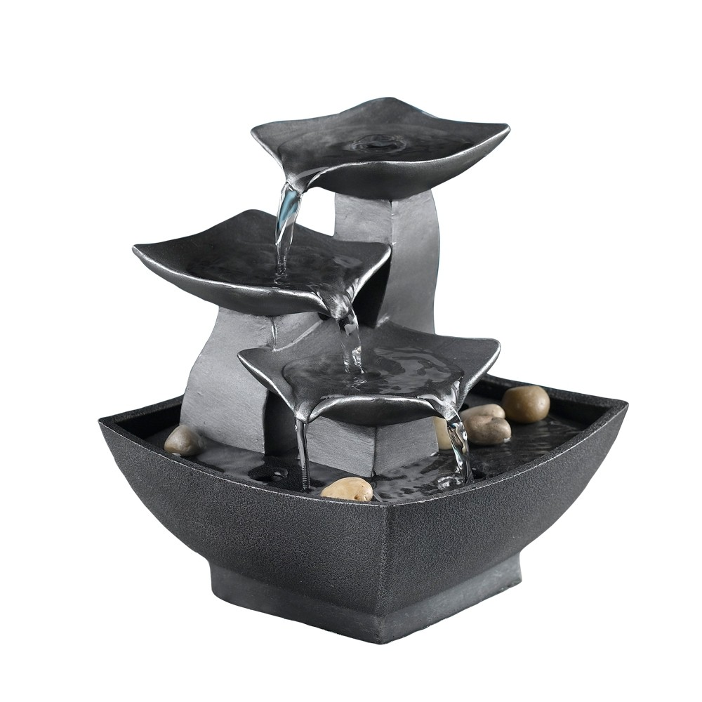 "7"" Tabletop Relaxation Water Fountain"