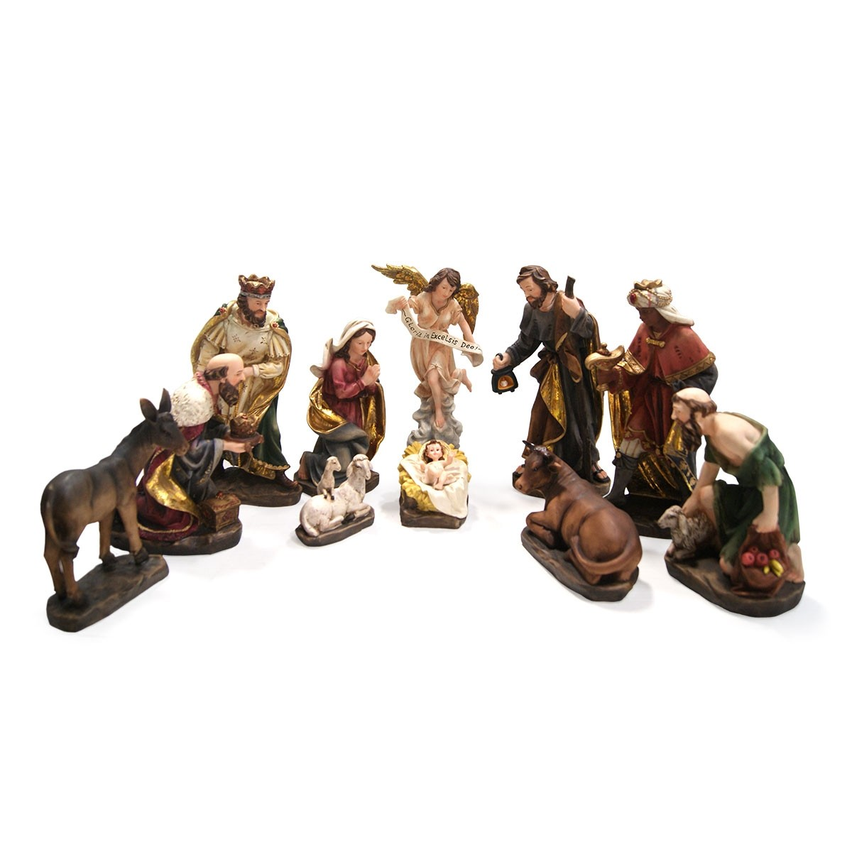 "14"" 11 Piece Nativity Set"