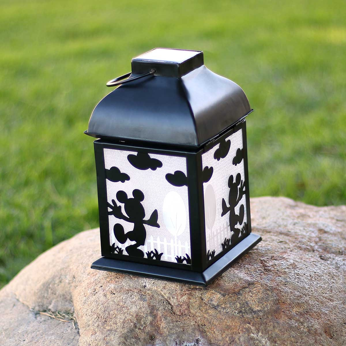 "8"" Tall Disney's Mickey Mouse Solar Lantern"