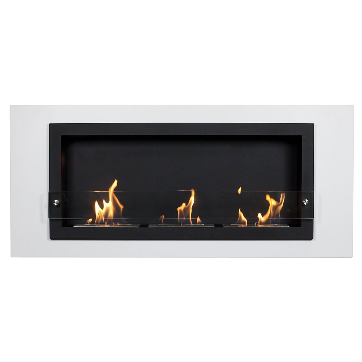 Camino Bianco Wall Fireplace