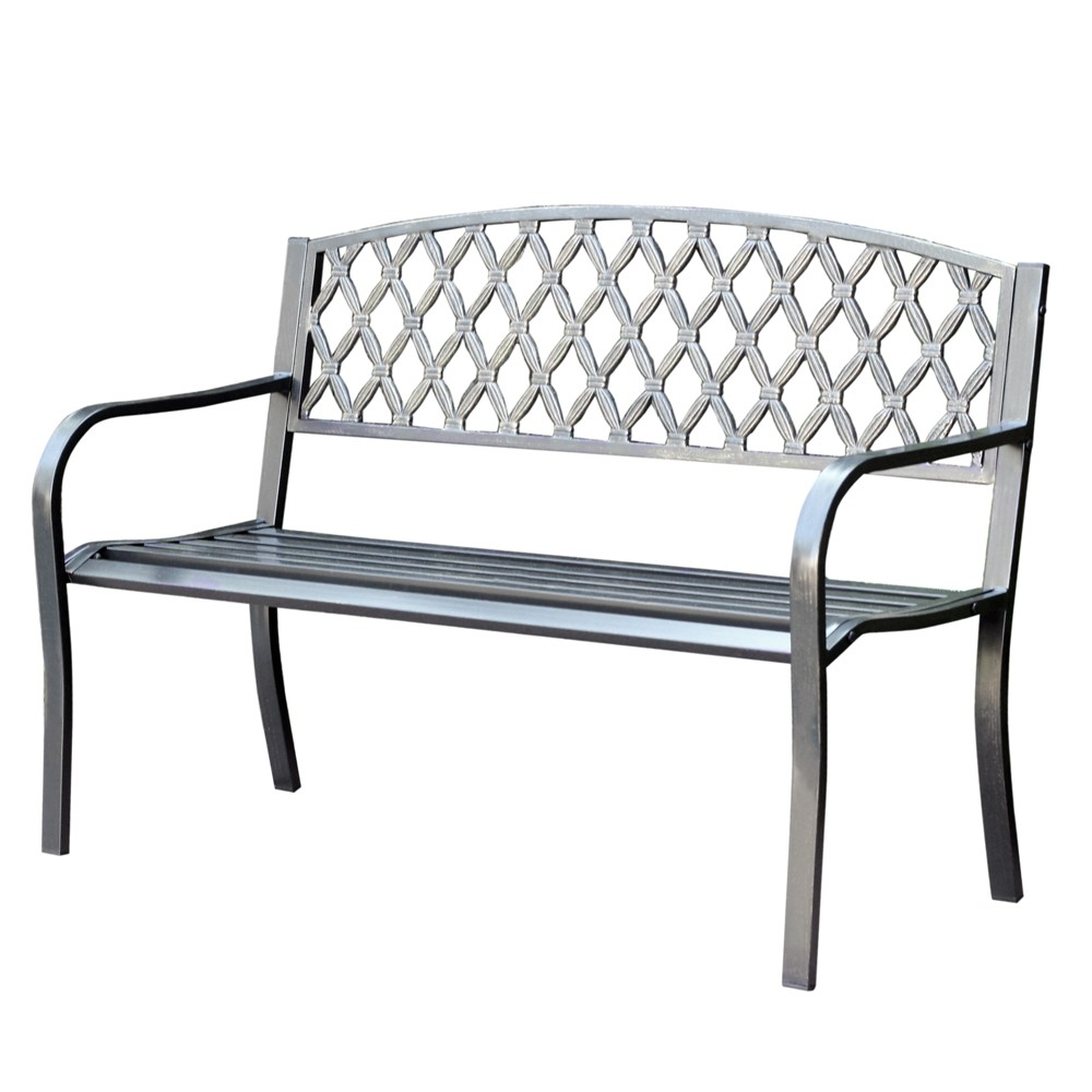 "50"" Crossweave Park Bench"