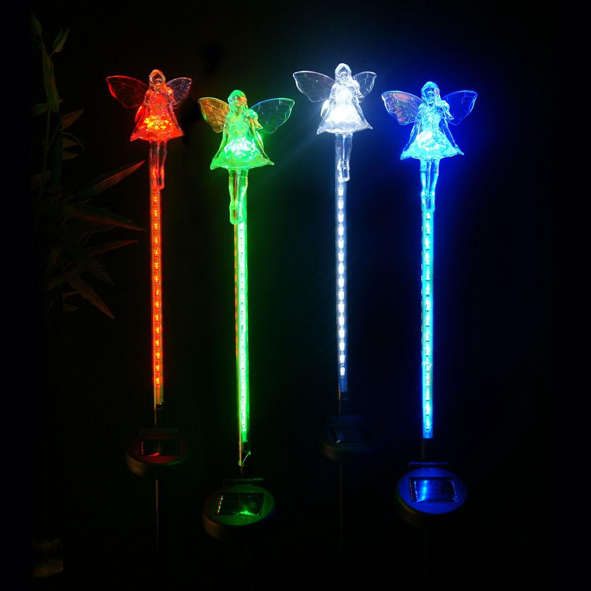 Solar Fairy Motion LED Garden Stake
