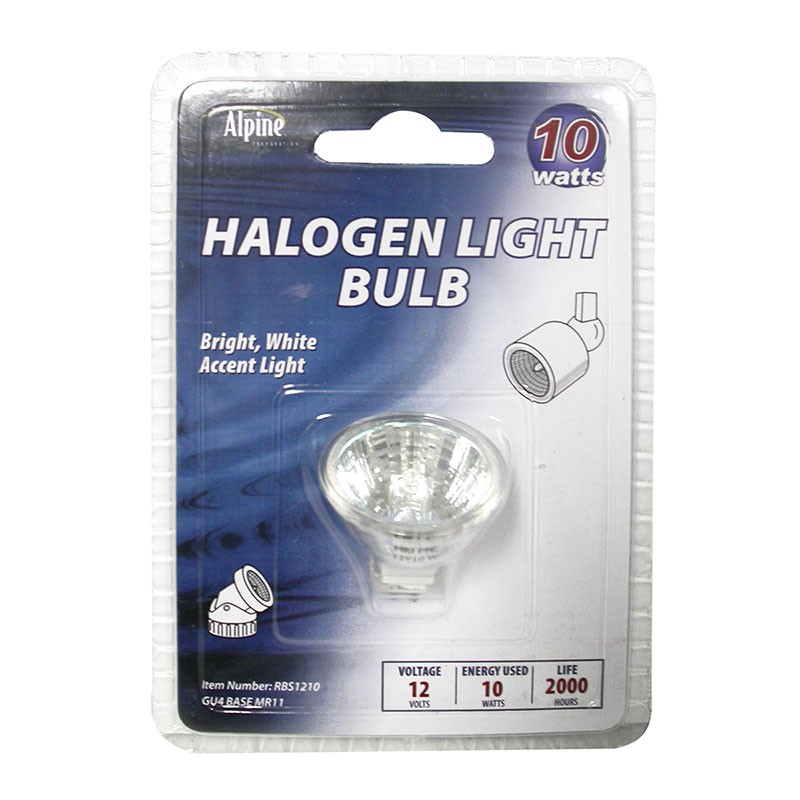 10 Watt 12 Volt Halogen Replacement Bulb