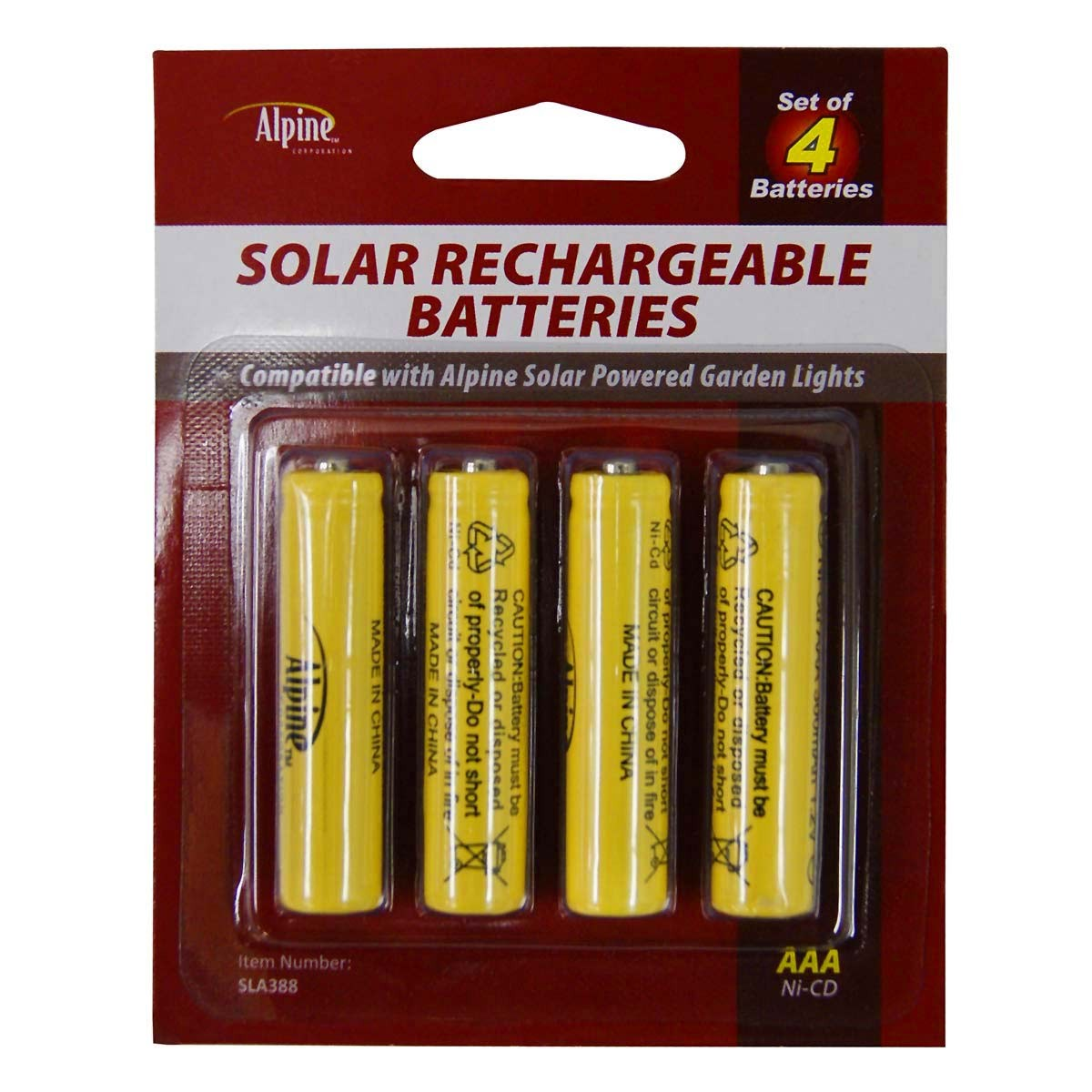 Solar Rechargeable Batteries
