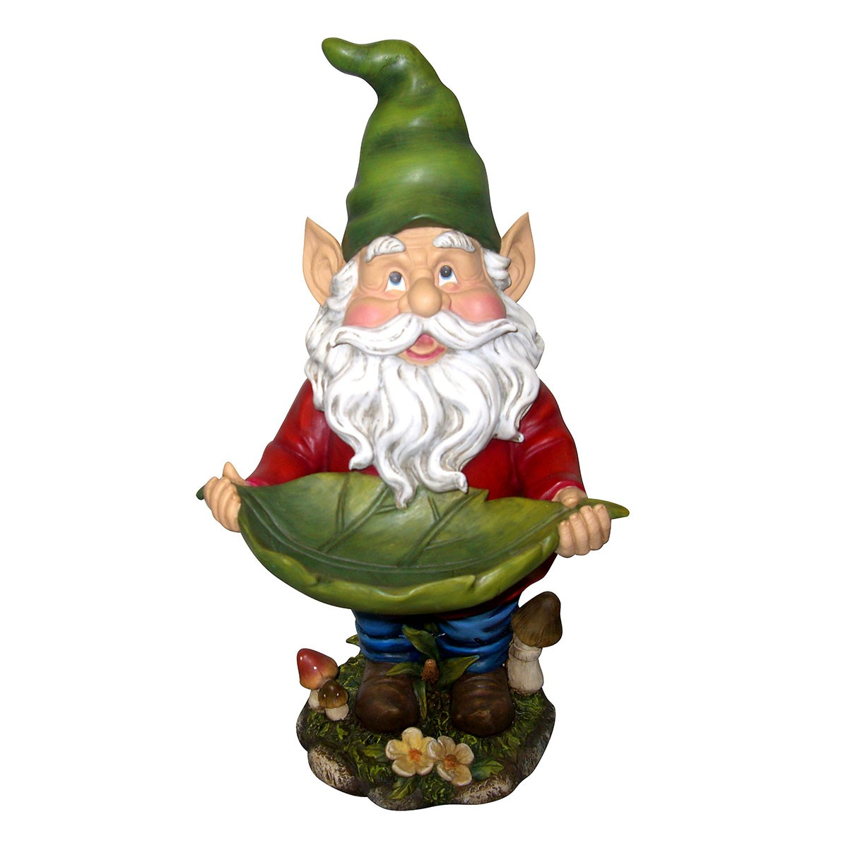 "17"" Tall Garden Gnome Bird Feeder"