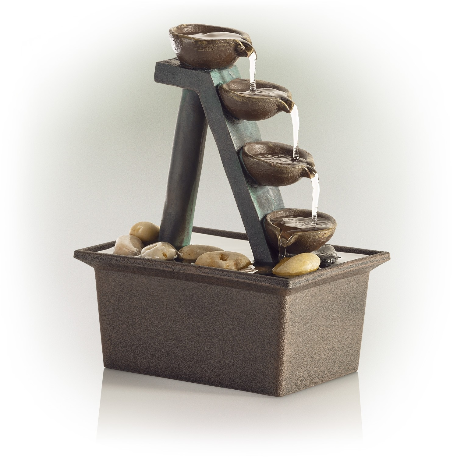 Eternity Four Tiered Step Tabletop Fountain