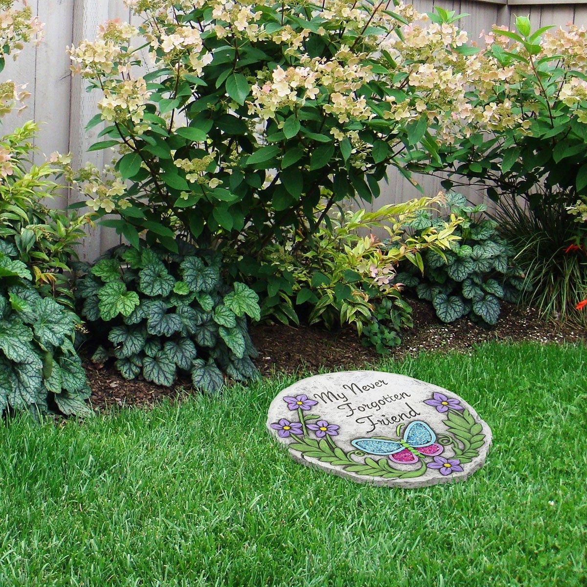 """10"""" Paws to Remember Friend Stepping Stone"""