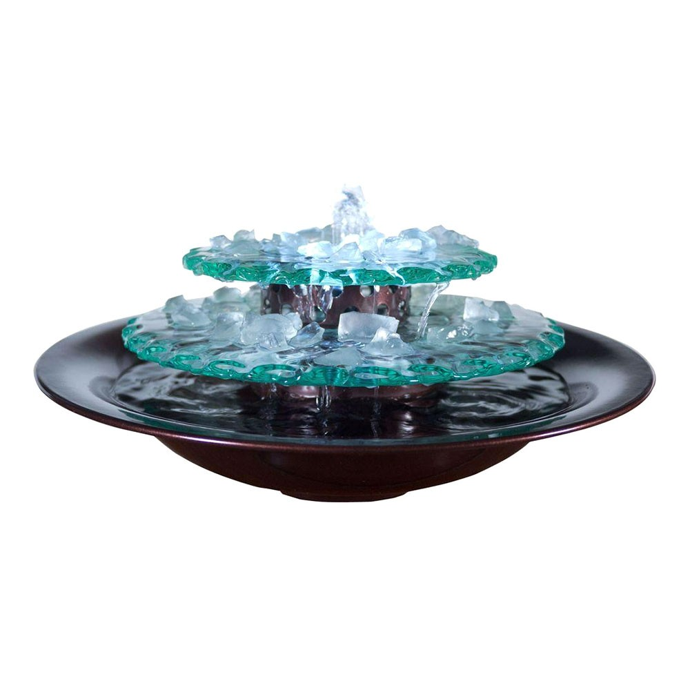 Blu World Moon Light Tabletop Fountain
