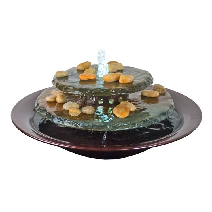 Blu World Tranquility Pool Tabletop Fountain