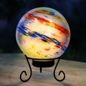"8"" Colorful Gazing Globe with LED Lights"