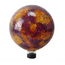 "10"" Mosaic Gazing Globe - Pink/Yellow/Red"