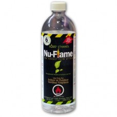 Nu Flame Ethanol Fuel 1 liter bottle Muti Packs