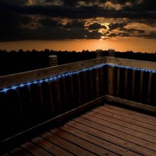 Flipo Blue Solar Rope LED Lights