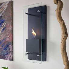 Nu Flame Cannello Wall Mounted Fireplace Ethanol