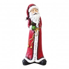 "Alpine 28"" Tall Skinny Christmas Santa Statuary"