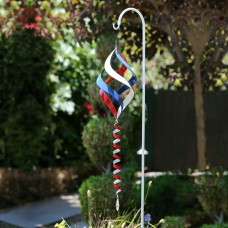 "38"" Red, White and Blue Wind Spinner"