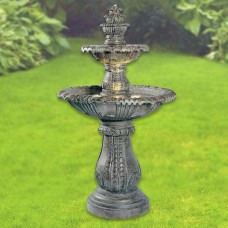 "57"" Tall Kenroy Venetian Lighted Outdoor Fountain"
