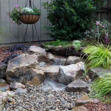 Backyard Waterfall landscape Kit