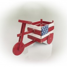 American Flag Tricycle Planter