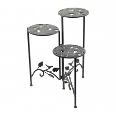 """23"""" Tall Metal Plant Stand"""