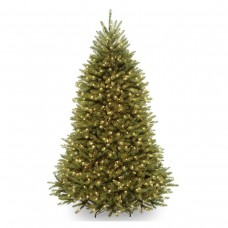 6 1/2 Dunhill Fir Hinged Tree w/ 650 Clear Lights