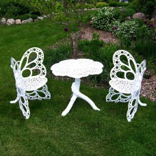 Butterfly Aluminum Bistro Set