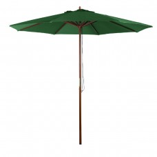 9' MARKET UMBRELLA - GREEN
