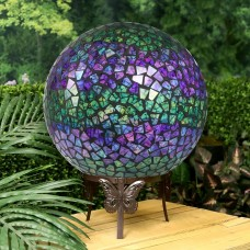 Multicolored Gazing Globe with LED Lights