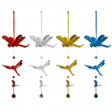 Alpine Acrylic Hanging Dragonflies with Beads