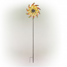 """72"""" Tall Abstract Windmill Garden Stake"""