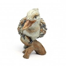 Garden Pebble Wood Pecker Statue