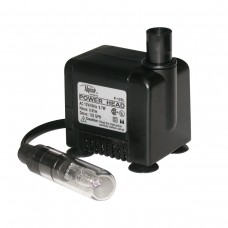 Power Head 120GPH Fountain Pump w/ Light