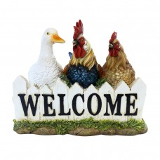 "Birds ""Welcome"" Statue"