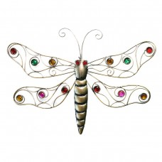 Metal Gold Dragonfly Wall Decor