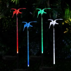 Solar Hummingbird Garden Lighted Stake