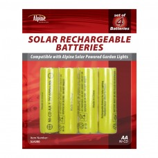 Solar Rechargeable AA Batteries