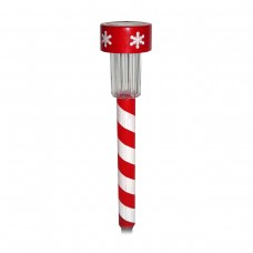 Mini Solar Christmas Striped LED Pathway light