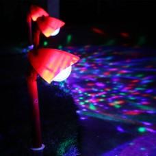 Kaleidoscope Christmas Garden LED Pathway Light set of 3