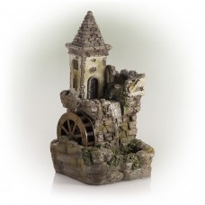 Castle Fairy Garden Fountain