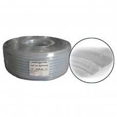 Clear Reinforced Braided Tubing